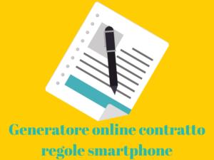 Generatore regole smartphone