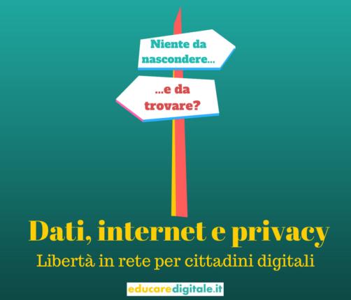 Privacy e internet: libertà in rete per cittadini digitali