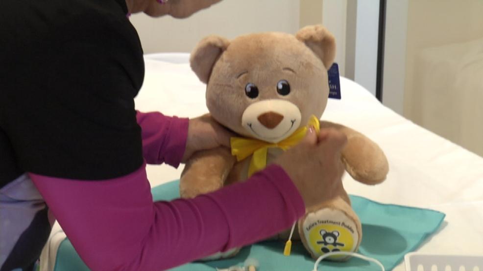Smart toys non tradizionali l'orsetto che supporta i bambini in ospedale